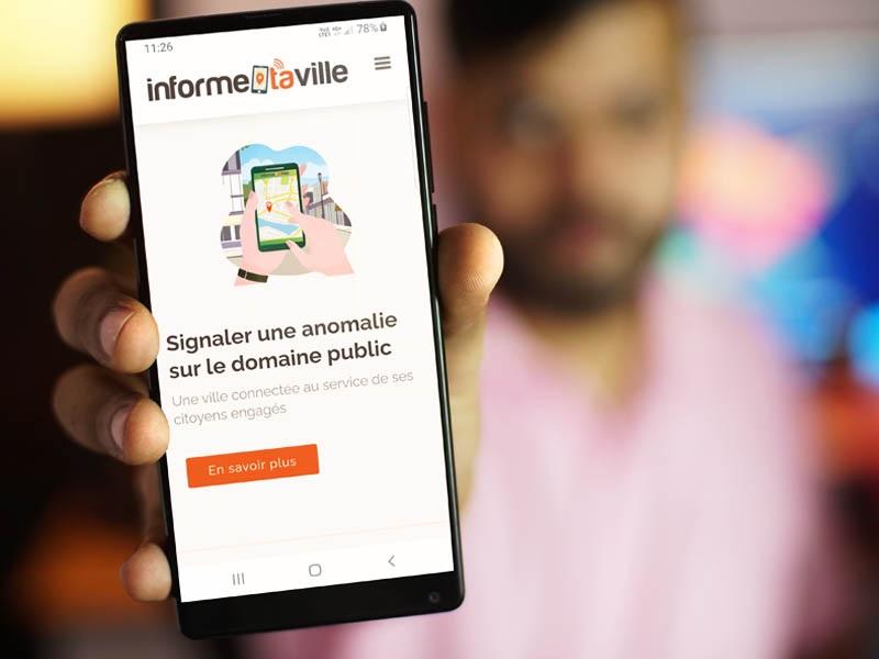 Application web au service du citoyen